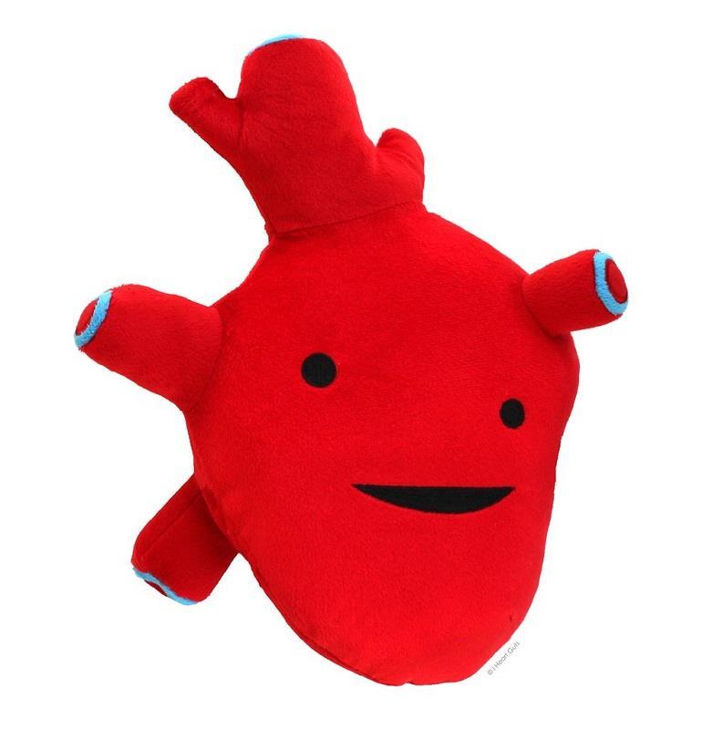 Heart Plush Guts
