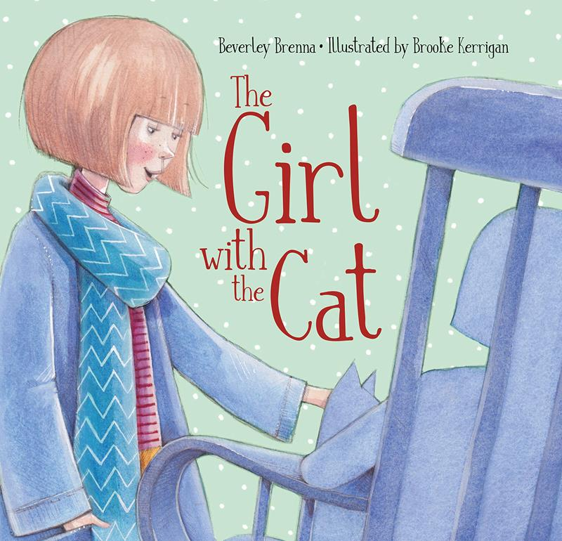 The Girl with the Cat Book